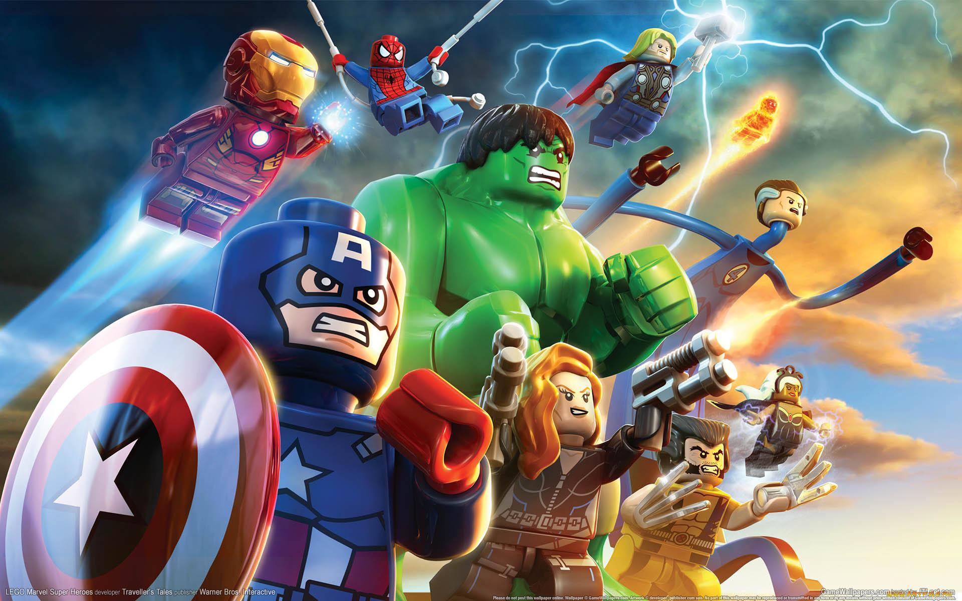 Игры lego marvel super heroes обои для рабочего